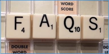letters FAQ's